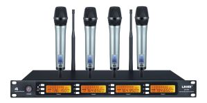Ls-Q4 High Quality Four Channel Wireless Microphone pictures & photos