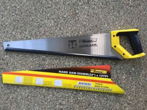 """22"""" Woodworking Tools 65mn Steel 10tpi Hand Saw pictures & photos"""