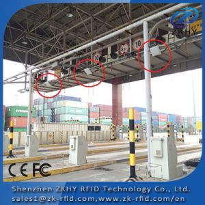 Long Range Access Control RFID Reader in Car Parking System pictures & photos