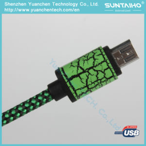 Nylon Braided USB Fast Charger Cable for Android pictures & photos