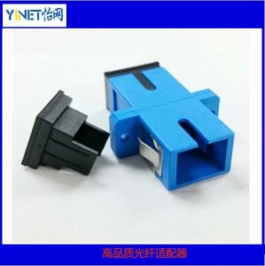 Optical Fiber Sc Adaptor Connector pictures & photos