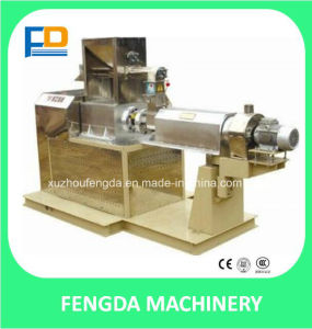 Twin Screw Dry Extruder (TSE65) for Shrimp Feed and Fish Feed of Aquafeed pictures & photos