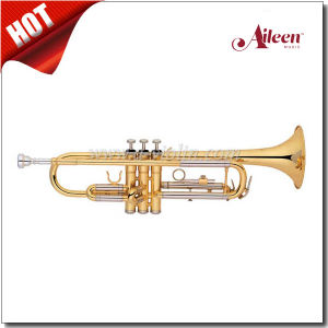 Y Style Yellow Brass Leadpipe Brass Lacquered Finish Trumpet (TP8391G) pictures & photos
