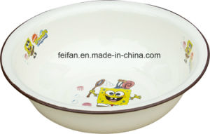 Colorful Decor Design Enamel Wash Basin/Dish Basin pictures & photos