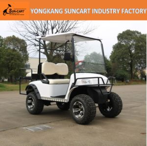 Environmental-Friendly 48V 2+2 Seats Electric Golf Cart pictures & photos