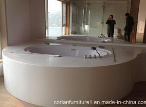 Solid Surface Freestanding Bathtub, Bathroom Bath Tub pictures & photos