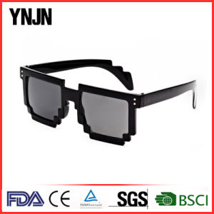 Cheap Price Ynjn Colorful Custom Logo Pixel Fun Sunglasses (YJ-194) pictures & photos