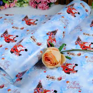 Printed Christmas Gift Wrapping Paper Roll for Gift Packaging