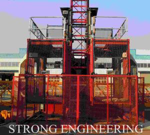 Ce Approved Sc200/200 Construction Hoist and Building Lift Platform pictures & photos