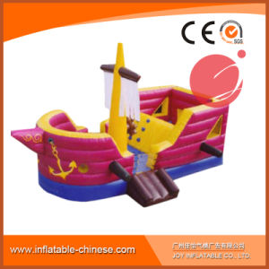 2017 New Design Mega Ballcanon Gaint Inflatable Pirate Boat (T6-614) pictures & photos
