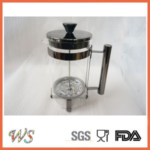 Wschsy012 Black Copper Color French Press Classic Coffee Maker for Tea and Coffee Lover pictures & photos