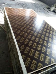 Brown Film Faced Construction Usage/Shuttering Plywood pictures & photos