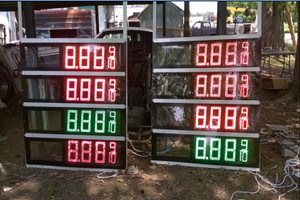 12inch LED Gas Price Sign (TT30SF-3R-RED) pictures & photos