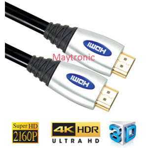 High Speed with Ethernet, 3D, 4K 60Hz, 2160p, Preminum HDMI Cable pictures & photos