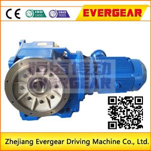 K Helical Bevel Electric Motor Gearbox pictures & photos