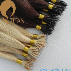 Double Drawn Brazilian Rmey Hair Nano Ring Hair Extension (TT379) pictures & photos