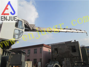 Factory Testing of 20t4m Telescopic Ship Crane Vessel Crane pictures & photos