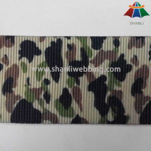 Hot Sale 1 Inch Sublimation Printing Camo Webbing pictures & photos