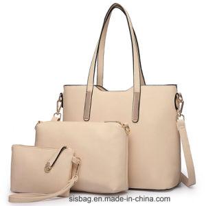 Designer Celebrity PU Leather Large Shoulder Bag Set Handbag pictures & photos