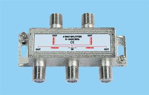 4-Way Splitter (5-2400MHz)