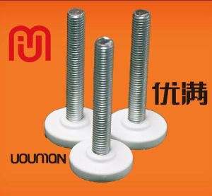 Adjusting Bolt with PVC/Rubber Head Nut for Home Furnitures Equipment Foot Pad