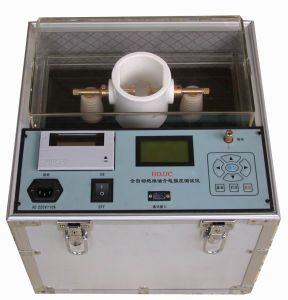 Transformer Insulation Oil Dielectric Strength Tester pictures & photos