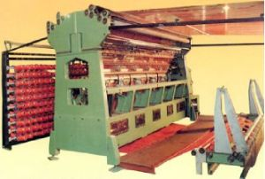 Raschel Double Needle-Beds Net-Bag Tricot Machine