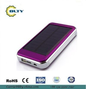 10000mAh Mobile Solar Charger for Mobile Phone pictures & photos
