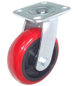 Industrial Swivel PU Caster Wheel pictures & photos