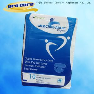 Disposable Adult Diapers with Unisex Style for Incontinence Patients pictures & photos