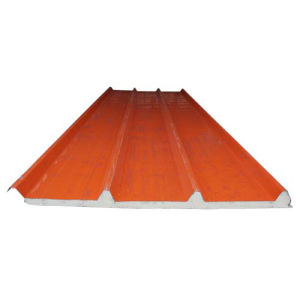 Heat Insulated Polyurethane Roof Sandwich Board pictures & photos