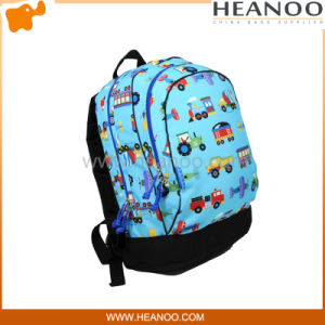 Boys Children Kids Cartoon Car Picture of School Bag Backpack pictures & photos