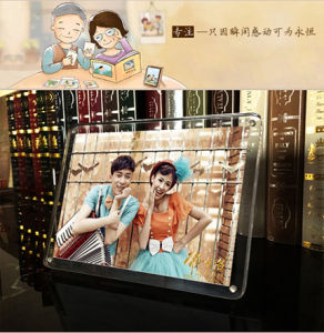 2017 New Style Hot Sales Clear Acrylic Photo Frame pictures & photos