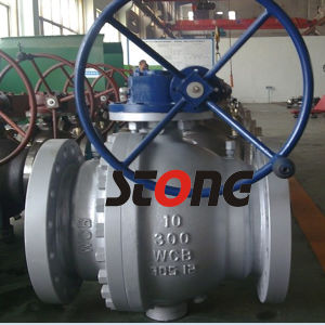 API 2PCS Type Side Entry Trunnion Mounted Ball Valve of 300lb pictures & photos