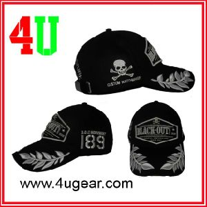 Baseball Cap with Big 3D Embroidery, Sports Cap, Golf Cap