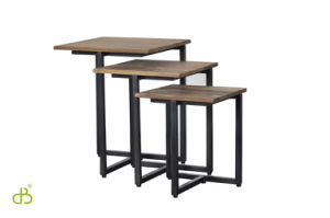 Steel Wood Stand Table for Display pictures & photos