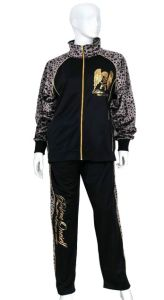 Custom Fashion Women′s Leopard Sport Tracksuit pictures & photos