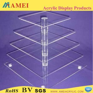 5 Tier Acrylic Cupcake Stand (AM-K17)