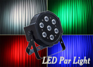 7*10W RGBW 4in1 Flat LED PAR