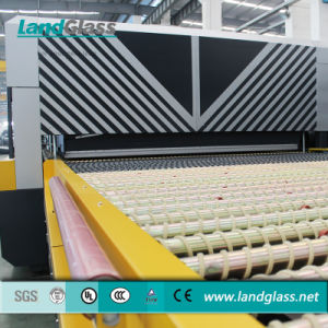 Landglass Jet Convection Horizontal Flat Glass Tempering Furnace Plant pictures & photos