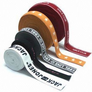 Fancy Jacquard Elastic Tape Made of Nylon