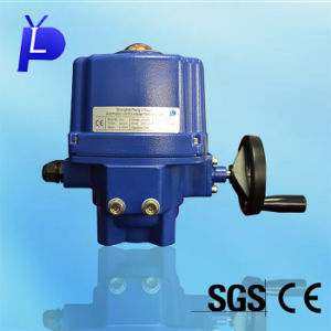 Intelligent Electric Actuator for Control Ball Valve