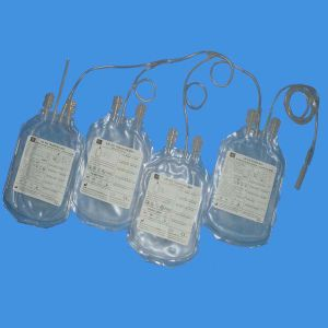 100ml-500ml High Quality Disposable Quadruple Blood Collection Bag pictures & photos