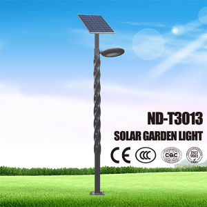 12.6V 19.8ah Lithium Battery 7watts LED Solar Outdoor Light pictures & photos