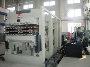 PSP Series Intermittent Sandwich Panel PU Foaming Line pictures & photos