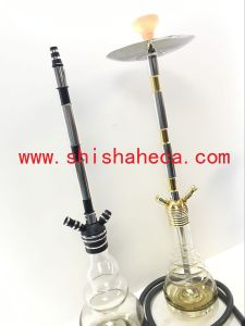 New Design Aluminium Shisha Glass Hookah pictures & photos