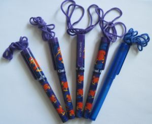 Ball Pen With Lanyard