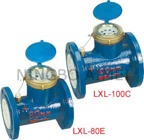 Horizontal Woltman Type Water Meter (LXL-80C-200C LXL-80E-200E) pictures & photos