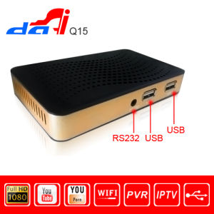 Dvbs2 HD IPTV WiFi 3G with Mini HD Satellite Receiver with
