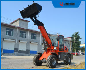 Cheap Price Telescopic Mini Wheel Loader Max Lifting Height 4700mm pictures & photos